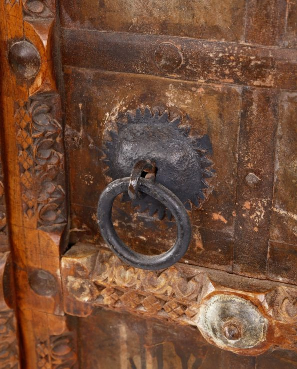 D  Antique Indian Door Cupboard closeups  f web