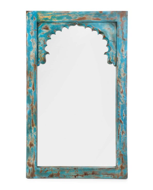 Haveli doorway mirror