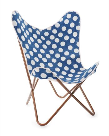 D  Rustic chair polka dot f web