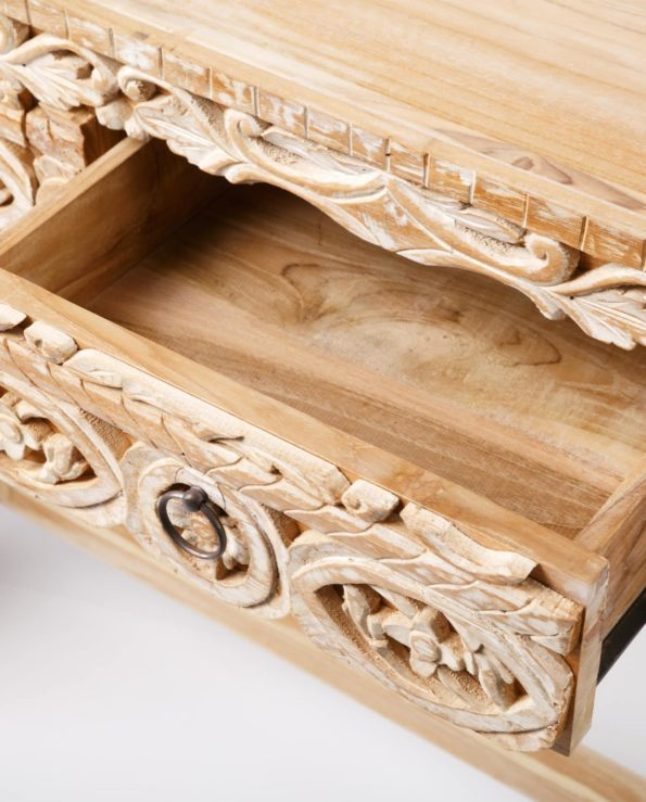 hand carved Console