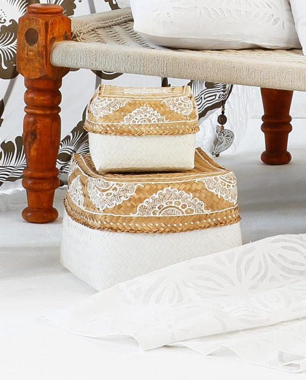 Bali basket close up