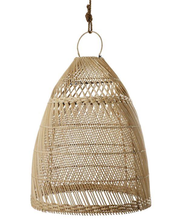 Bamboo pendant cone – big
