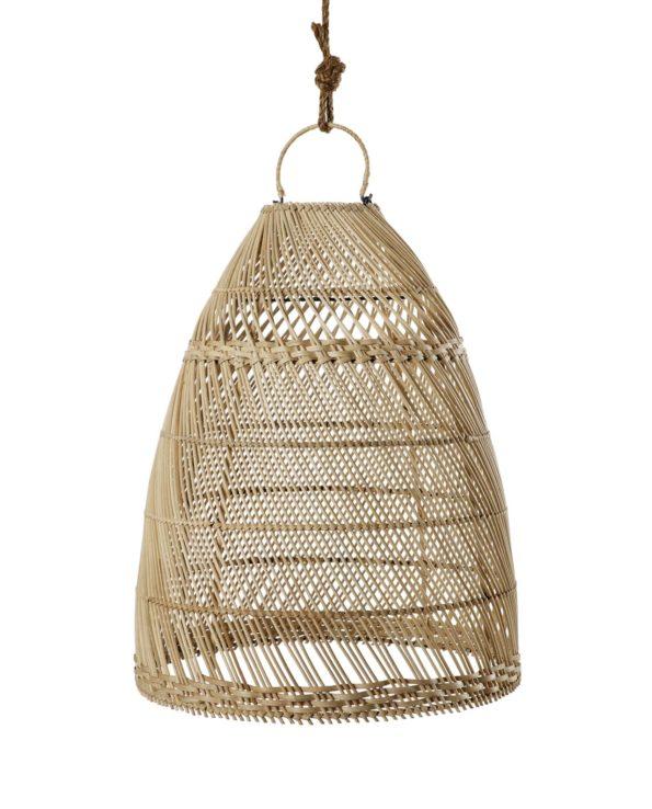 Bamboo pendant cone – small