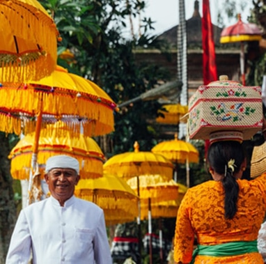 Balinese Ceremonial Umbrellas