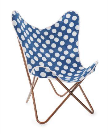D  Rustic chair polka dot f web