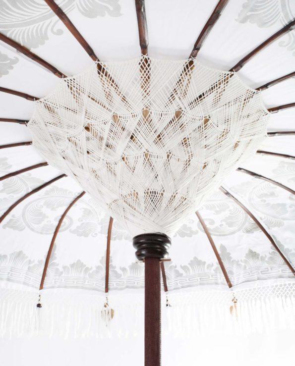 Ceremonial Bali umbrella closeup