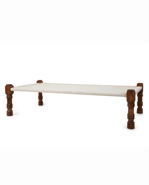 Indian Charpoy daybed 45x180x90