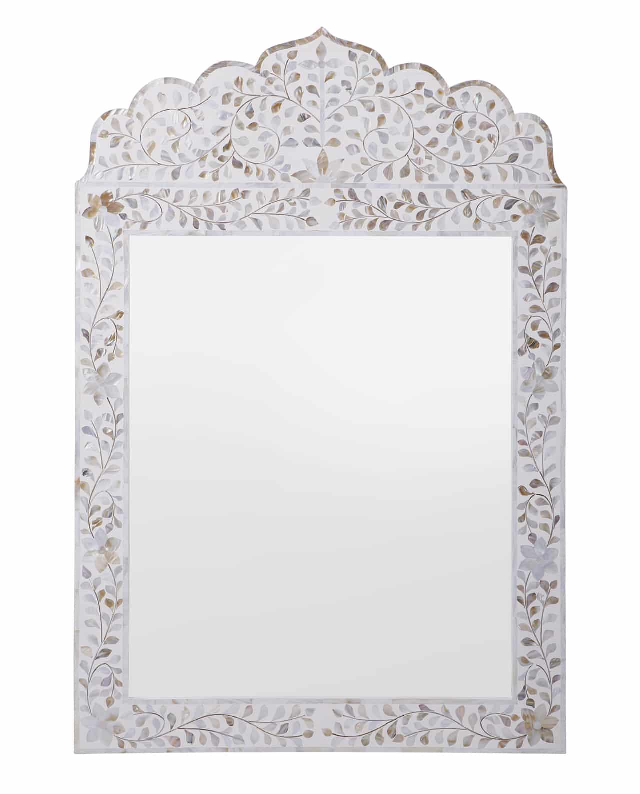 Mehrab Mother Of Pearl Inlay Mirror 101hx71w