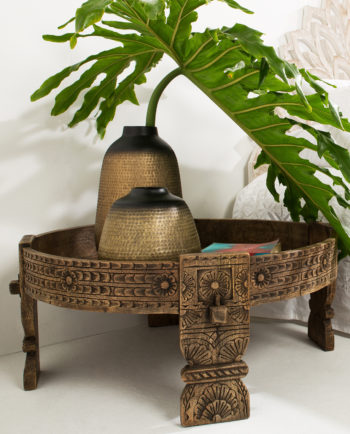 Indian Furniture - Indian Chakki Coffee Table