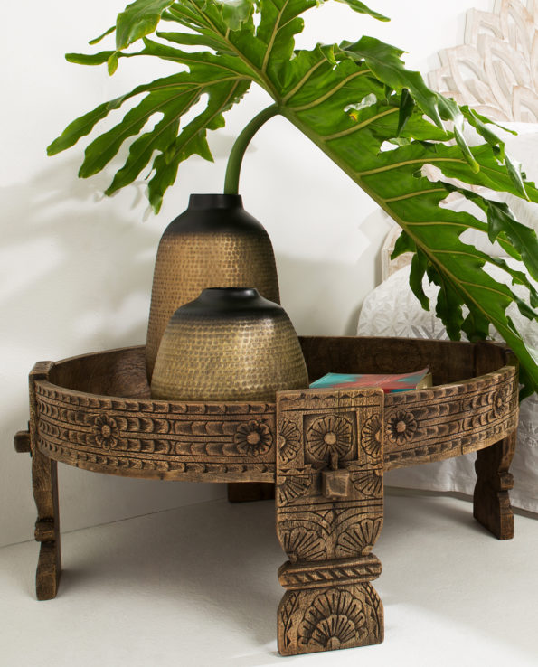Indian Chakki Coffee Table L82cm | W82cm | H36cm