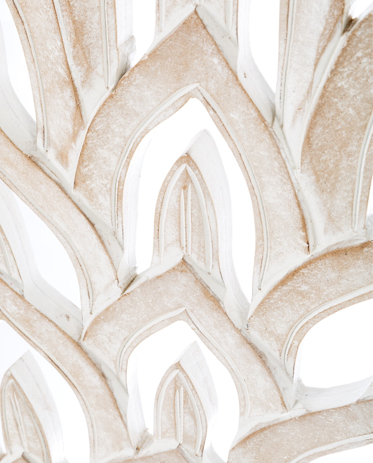King Mother Of Pearl Headboard By The Yard: Lotus Flower Carved King Size Headboard 100hx180w