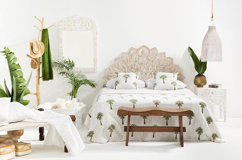 lotus blossom unique headboards modern bedroom design padstyle.com