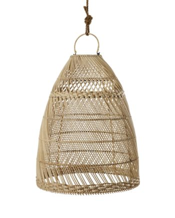 Rattan Pedants Cone | Bamboo Pendants in Cape Town