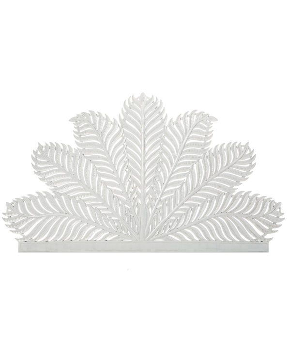 Tropical palm leaf headboard – queen 100hx147w