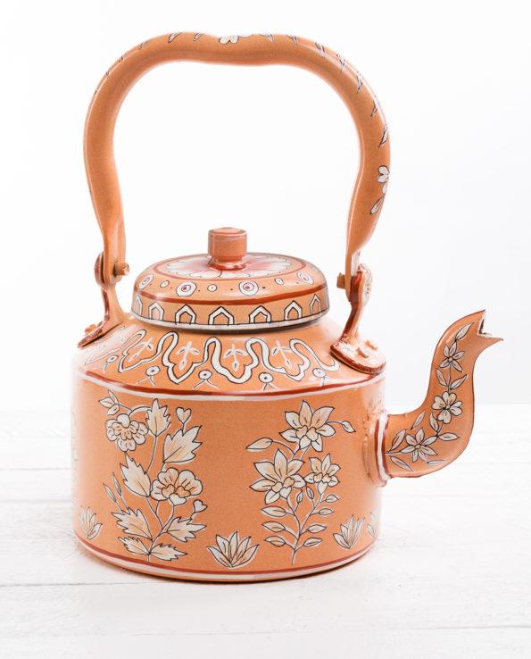 Jaipur hand-painted teapot