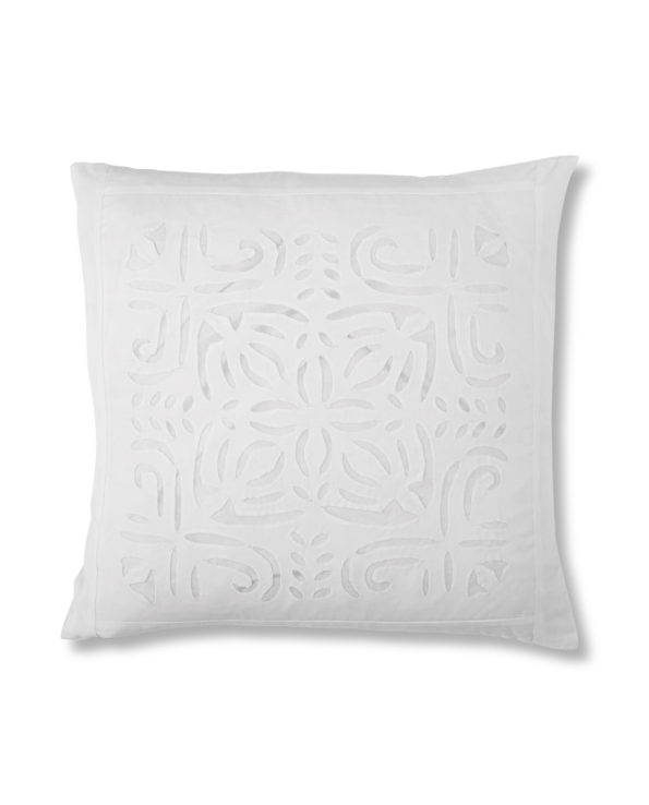 Applique cushion with feather down inner 2