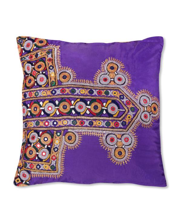 Tvisha vintage kutch cushion 51cm x 46cm